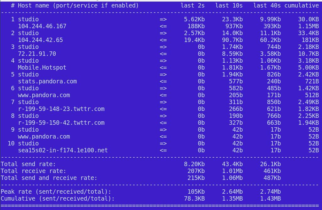 3 Simple, Excellent Linux Network Monitors - Linux com