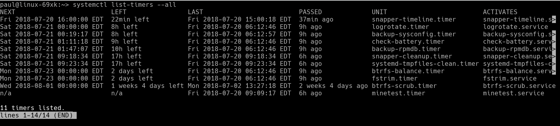 Setting Up a Timer with systemd in Linux - Linux com