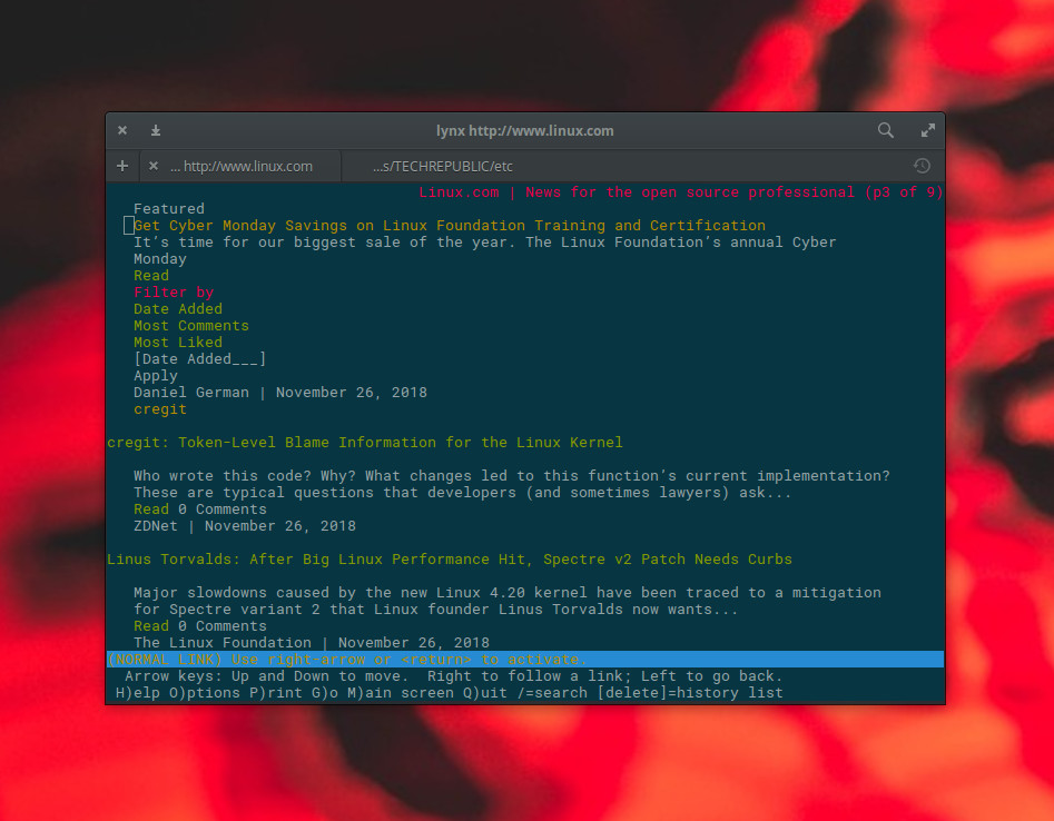 5 Minimal Web Browsers for Linux - Linux com
