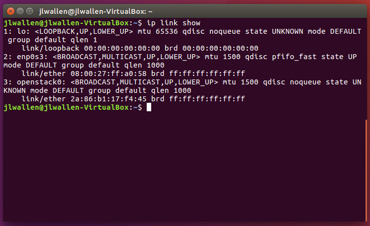 Working with Network Configurations from the Command Line