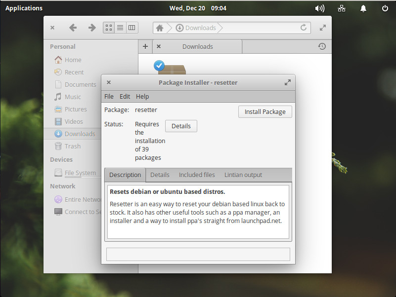 Set Ubuntu Derivatives Back to Default with Resetter - Linux com