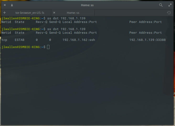 An Introduction to the ss Command - Linux com