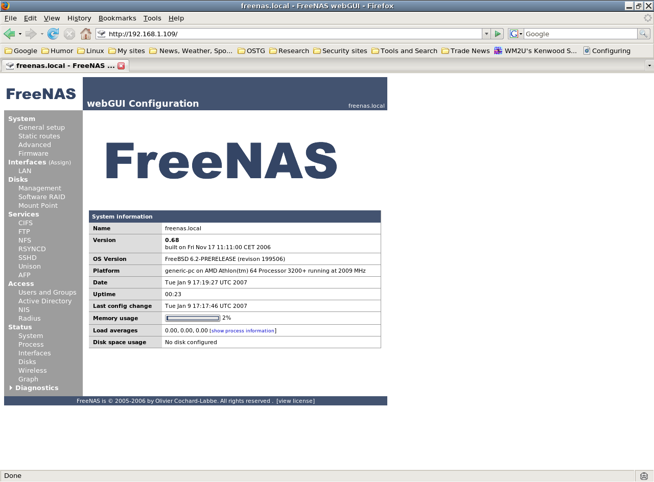 FreeNAS makes it easy to add storage to home networks