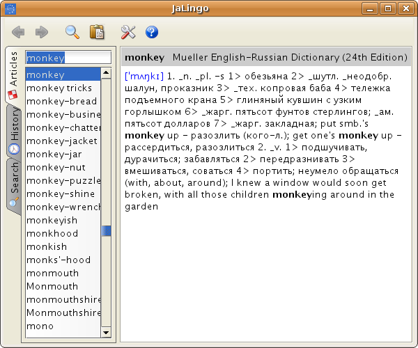 Two spiffy dictionary tools for Linux desktop users - Linux com