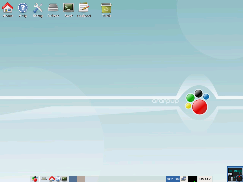 Graphics pros will find good tools in compact Grafpup distro