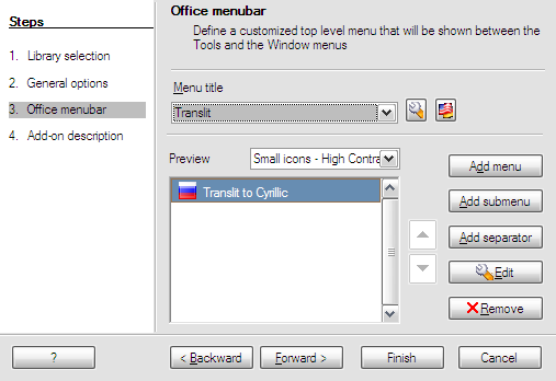 Create an OpenOffice org extension the easy way with