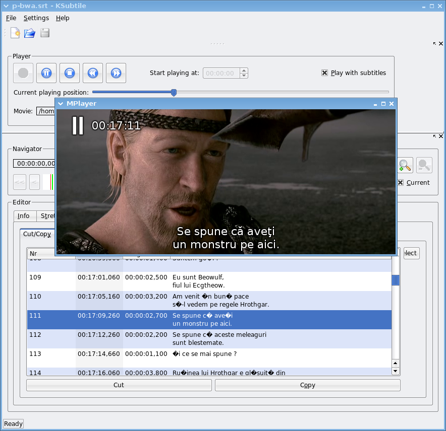 Subtitle manipulation tools for Linux | Linux com | The source for