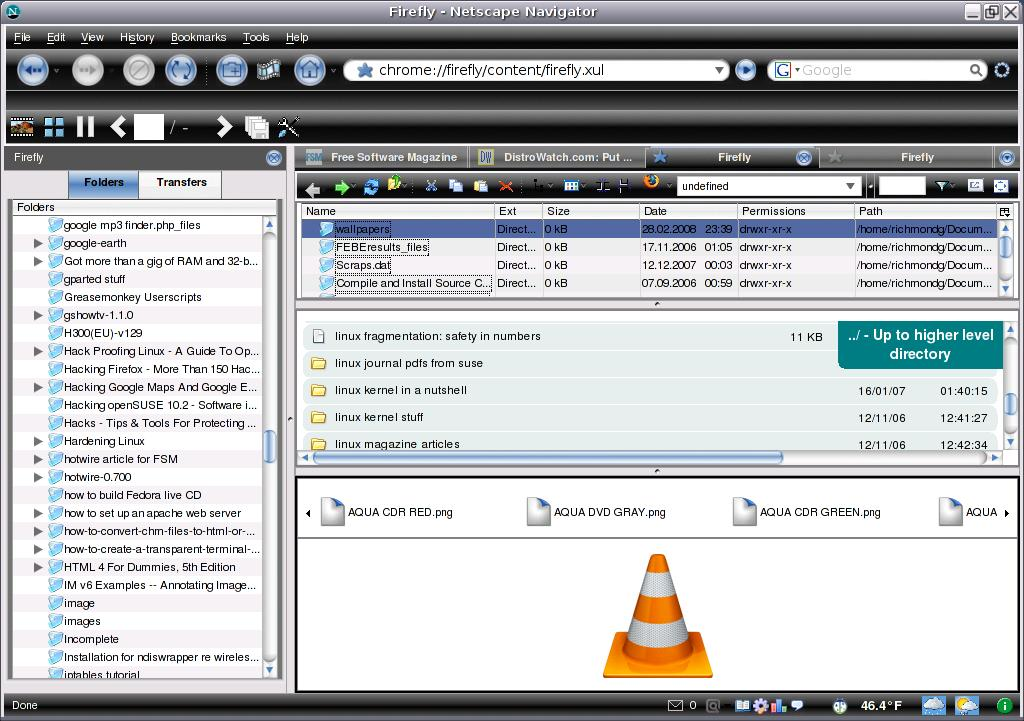 Firefly extension turns Firefox into a file browser | Linux com