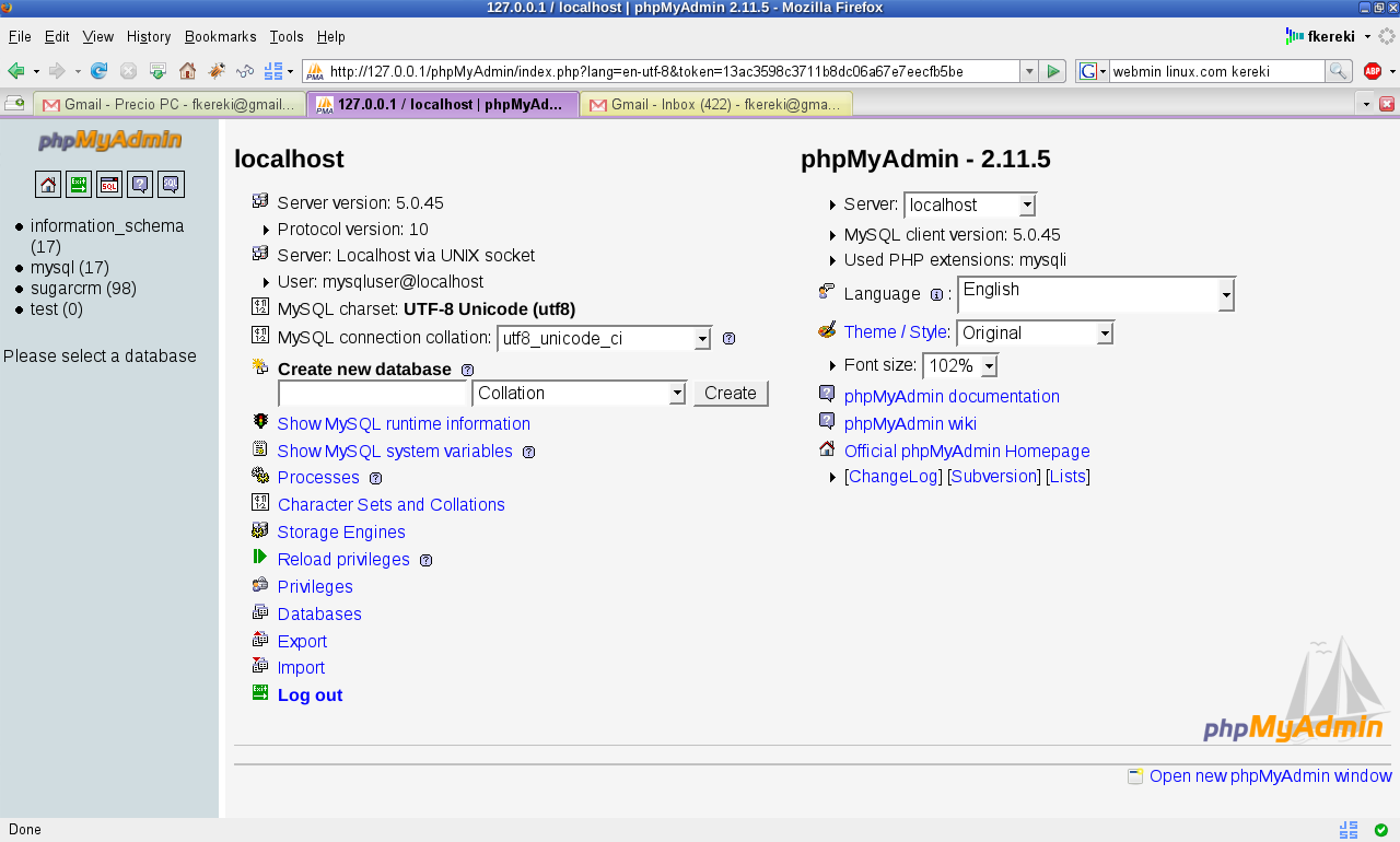 Manage MySQL remotely with phpMyAdmin | Linux com | The source for