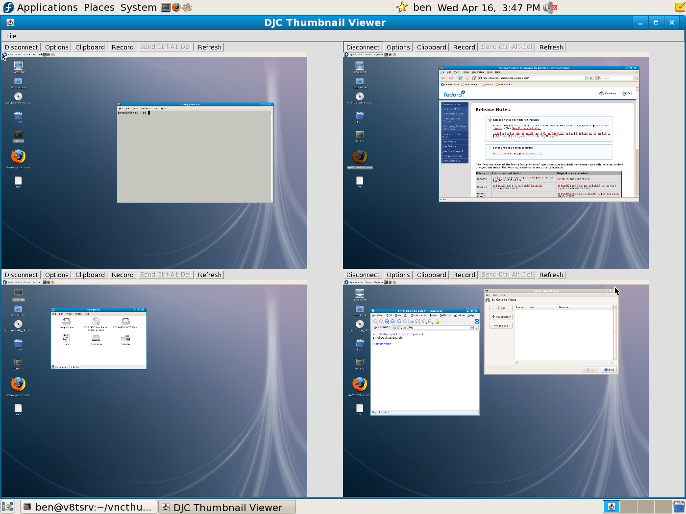 Control and keep an eye on many VNC sessions at once   Linux com