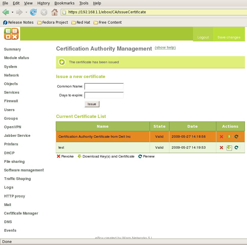 eBox unites platform networking services - Linux com