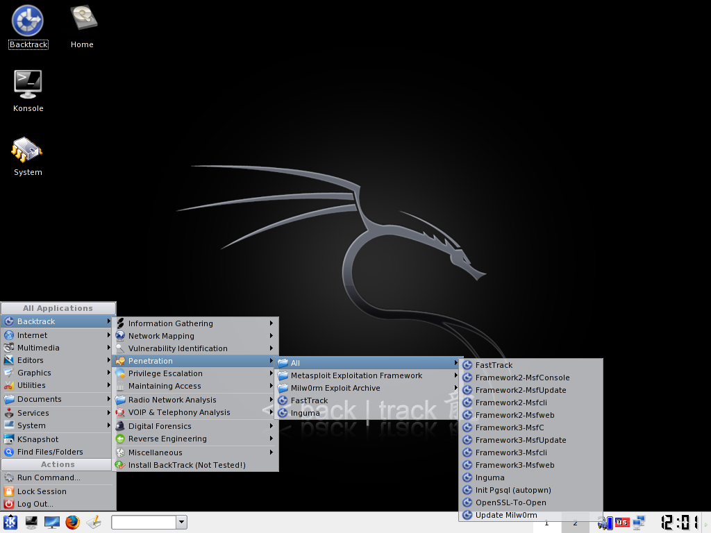 Test your environment's security with BackTrack - Linux com