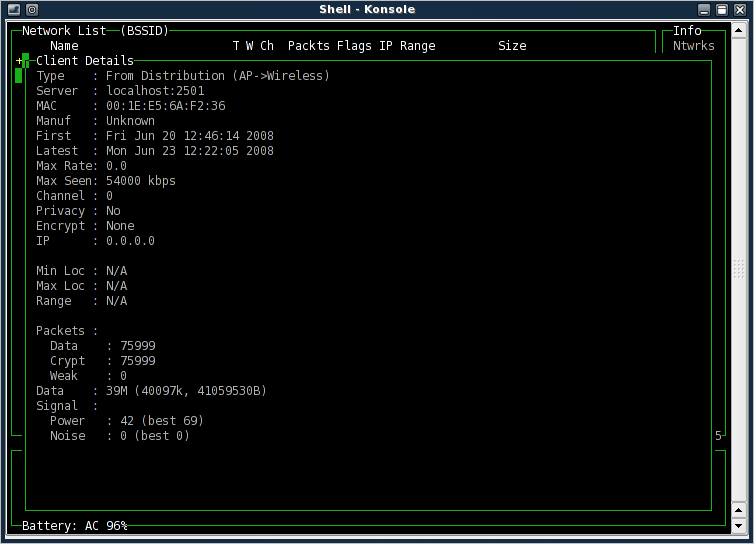 An introduction to the Kismet packet sniffer - Linux com