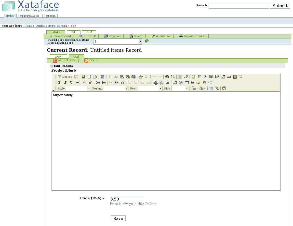 Xataface lets non-technical users edit MySQL data | Linux com | The