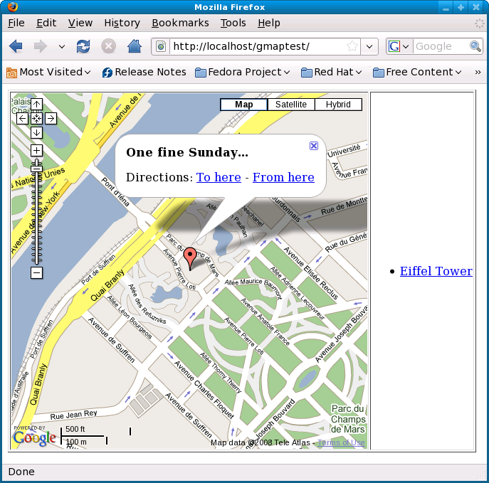 how to add information to google maps