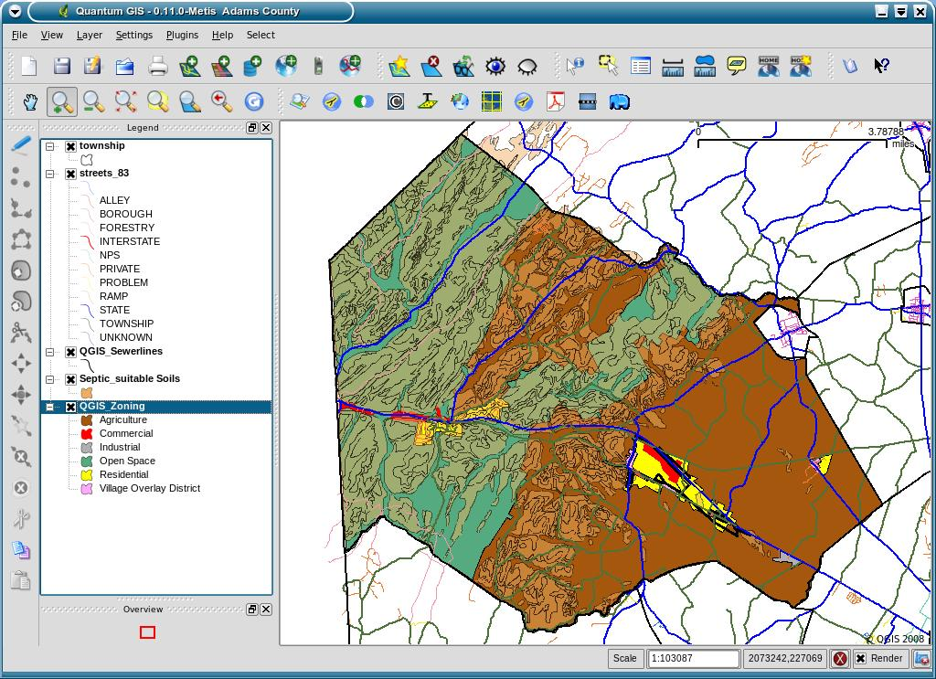 Qgis earns a spot on gis software map linux the source for once installed and running qgis gumiabroncs Images