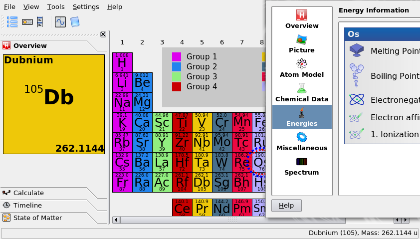 New periodic table element breakdown periodic breakdown element table students linux foss for urtaz Images