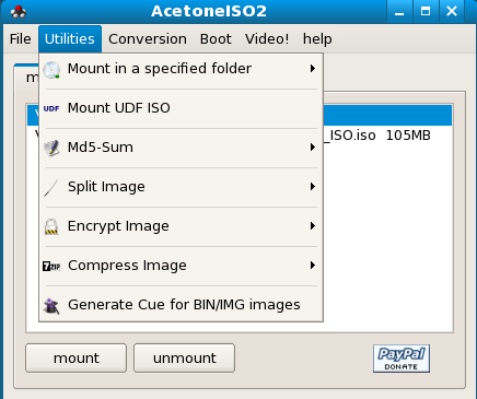 Manipulating CD/DVD images with AcetoneISO2 - Linux com