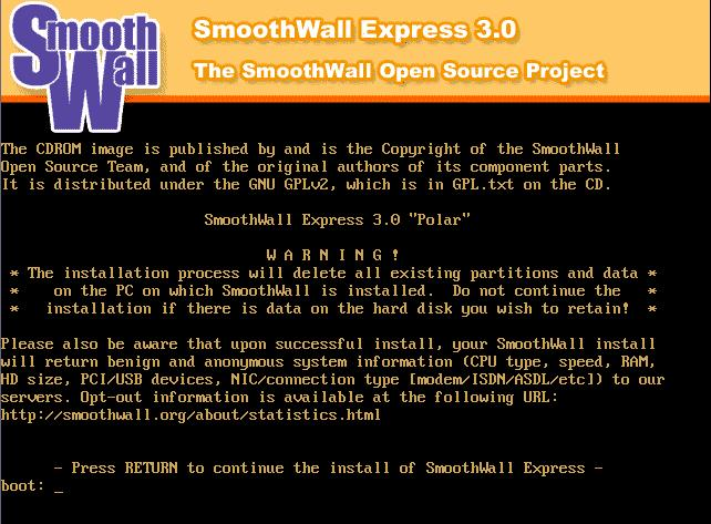 Protecting networks with SmoothWall Express - Linux com
